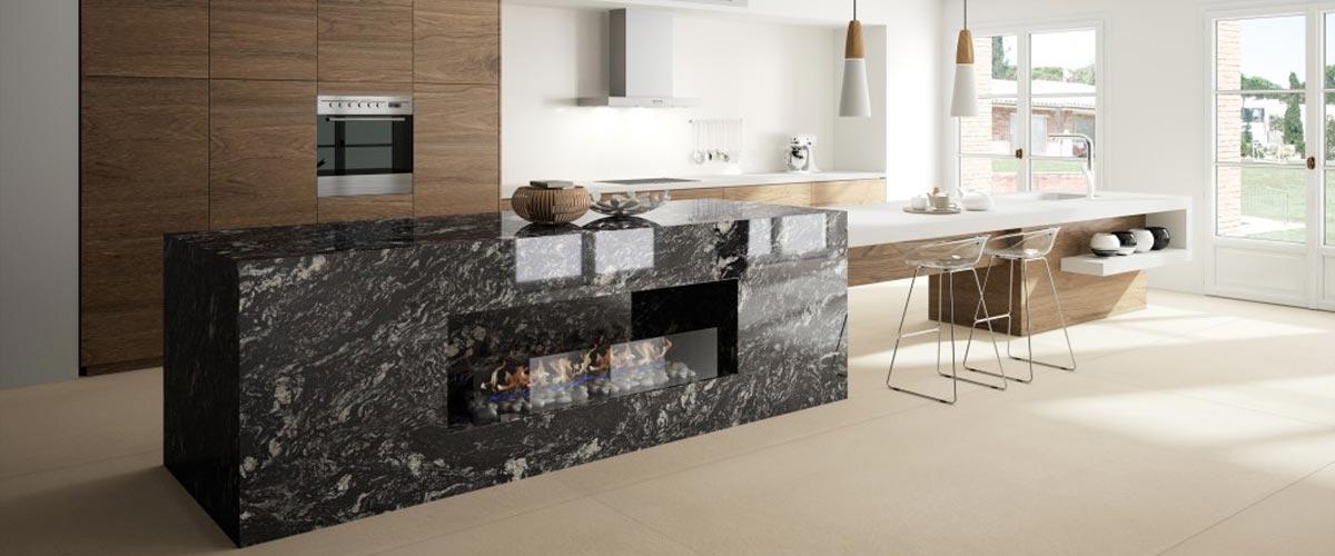 Photo n°1 - Qu'est-ce qu'un plan de travail en granit classique ?